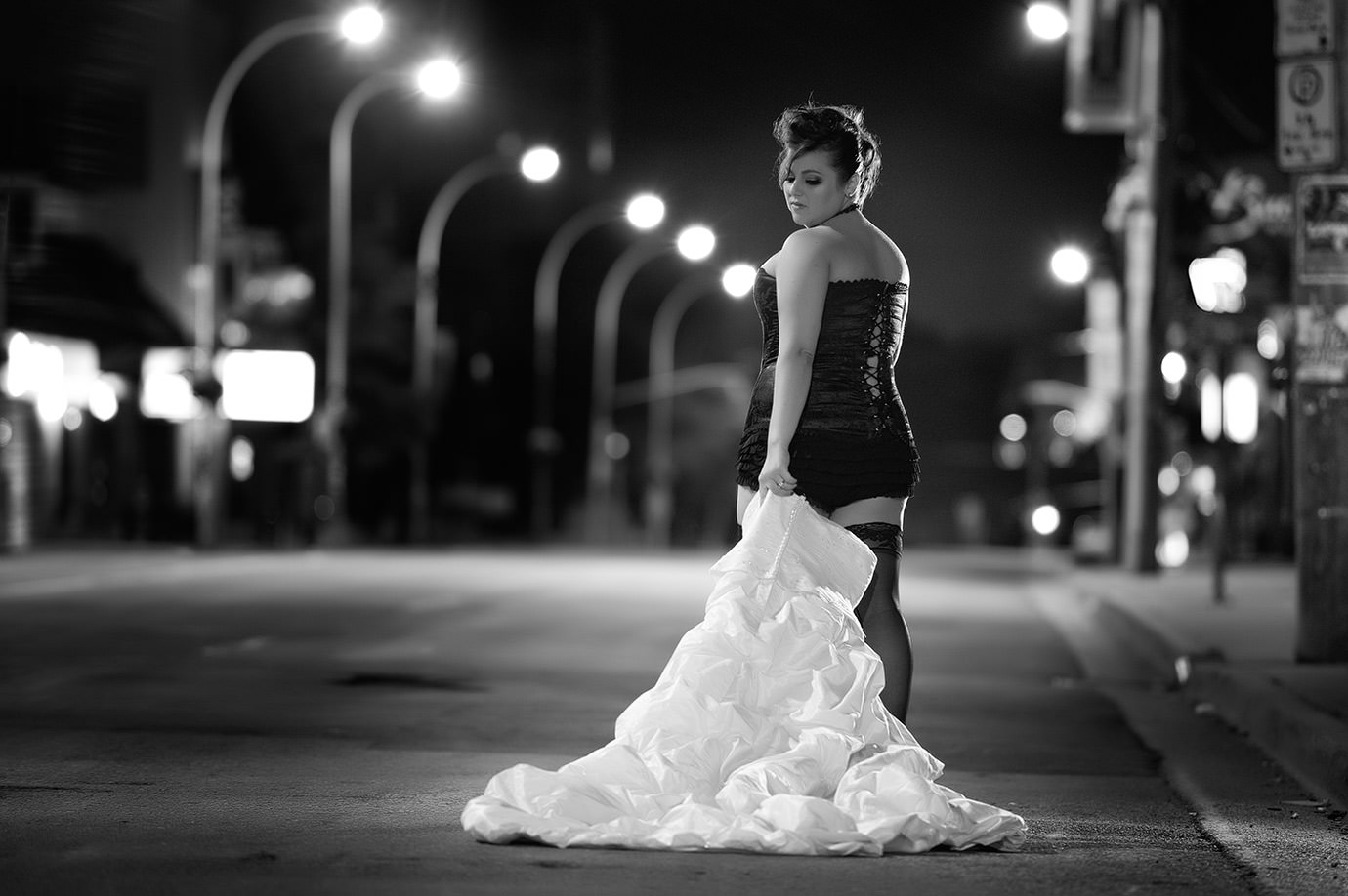 halifax boudoir photographers, creative bridal, trash the dress