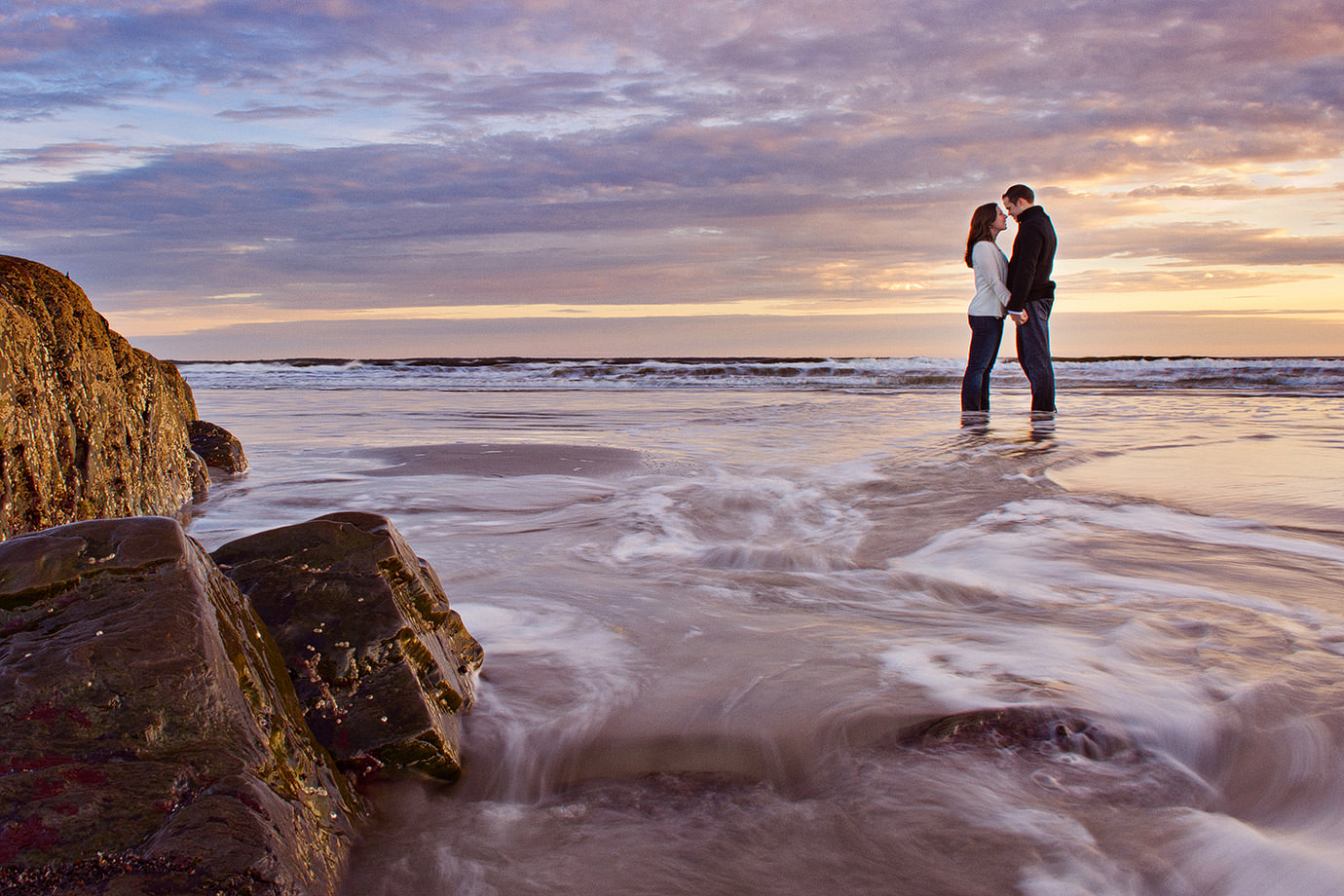 Halifax-Engagement-Photographes-Beach-Sunset-October-Christena+Brad-1