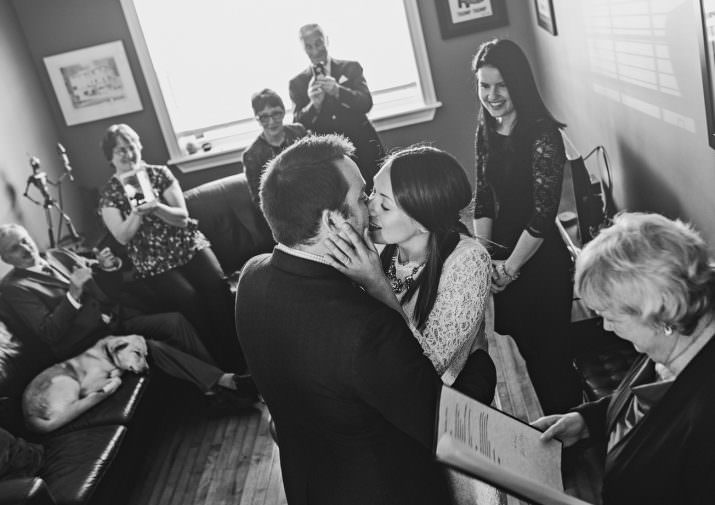 Lucy + Nic - Monday Morning Elopement
