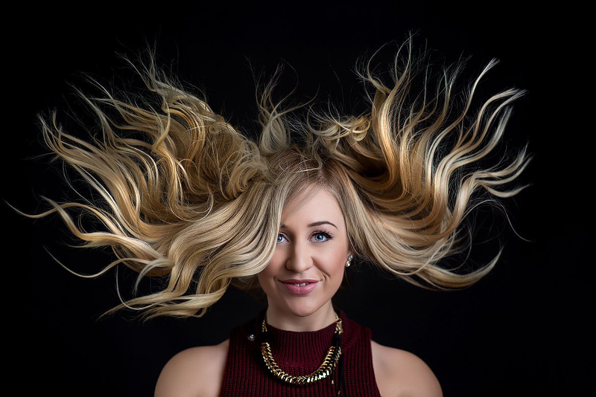 Halifax Commercial Photographers, Jeff Cooke, Bowtique, Hair, Blow Out, Commercial Photography, Portraits, Not Weddings