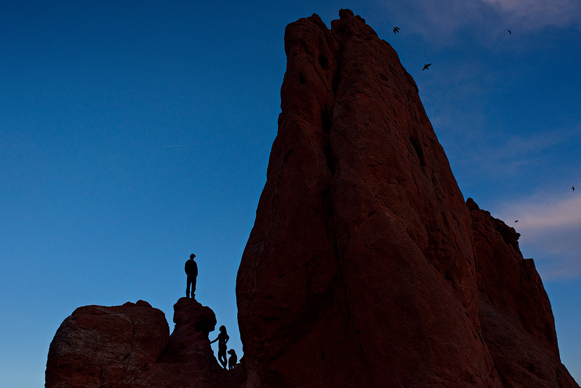 Halifax Engagement Photographers, Garden Of The Gods, Colorado Springs, Destination Weddings