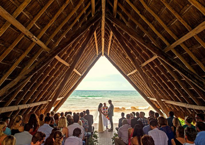 Aly + Nathan's Tulum, Mexico Wedding